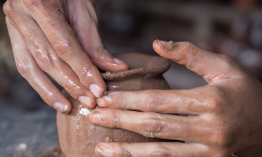 hand crafted pottery